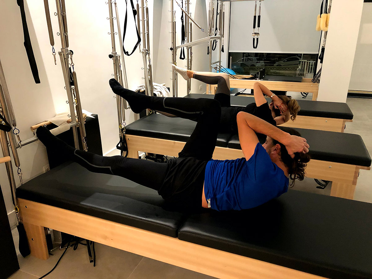 Pilates duo son clases para realizar en pareja