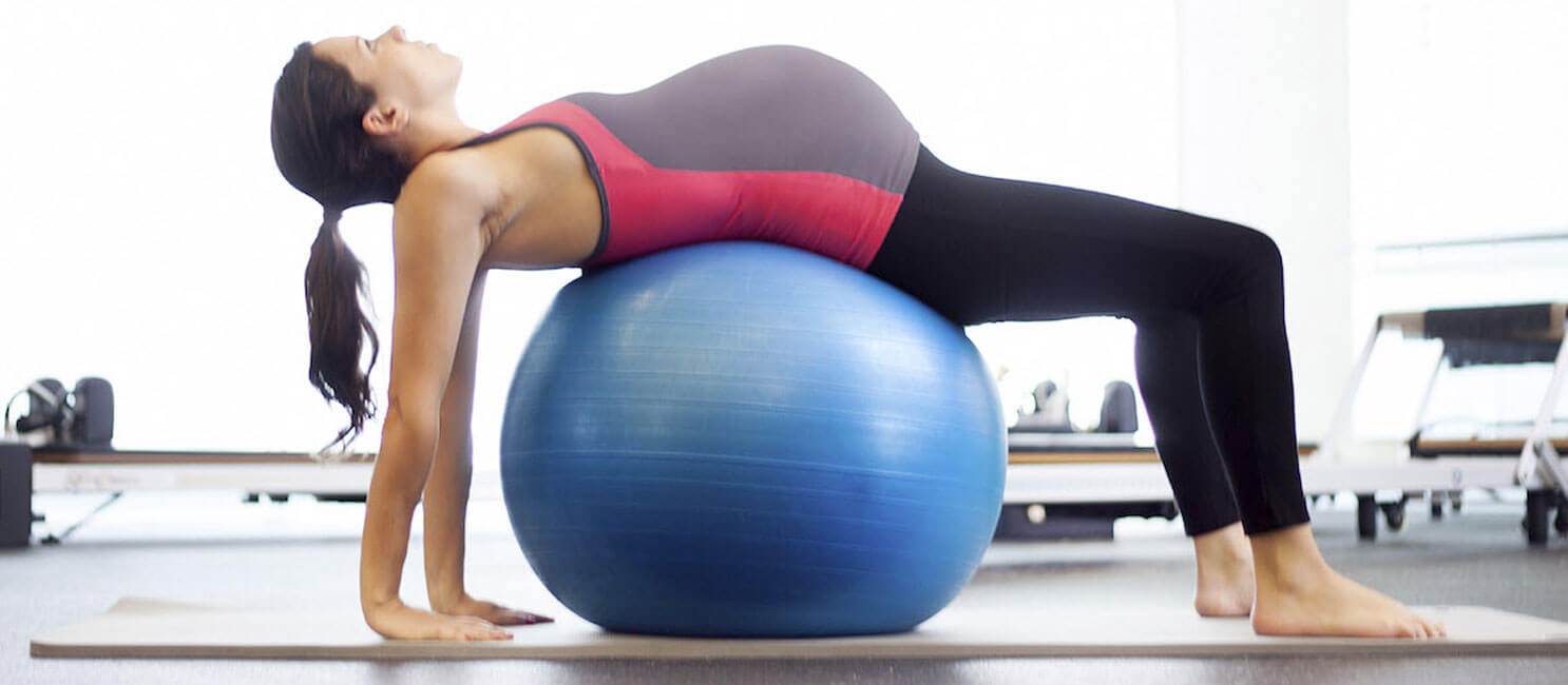 pilates embarazo balon